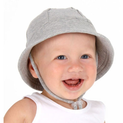 Grey Marle Baby Bucket Hat - Bedhead Hats
