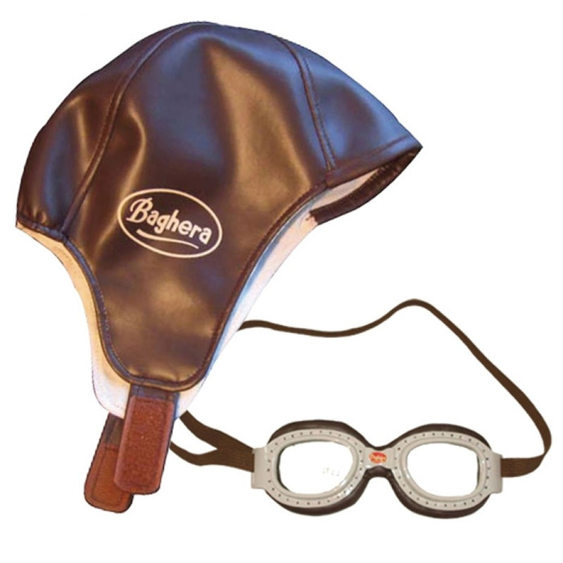 Race Kit Helmet and Goggles - Baghera