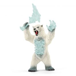 Blizzard Bear with Weapon - Schleich