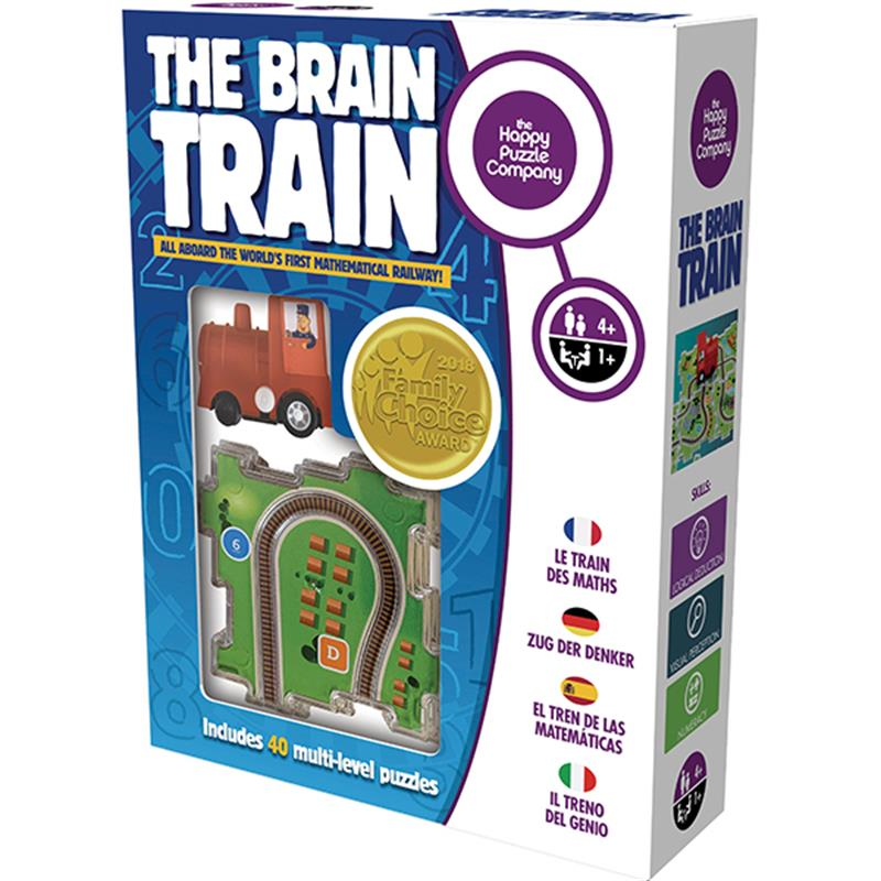 The Brain Train - Happy Puzzle Company