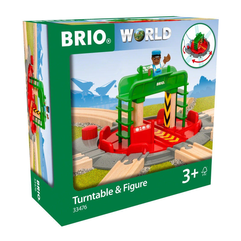 Turntable and Figure - Brio