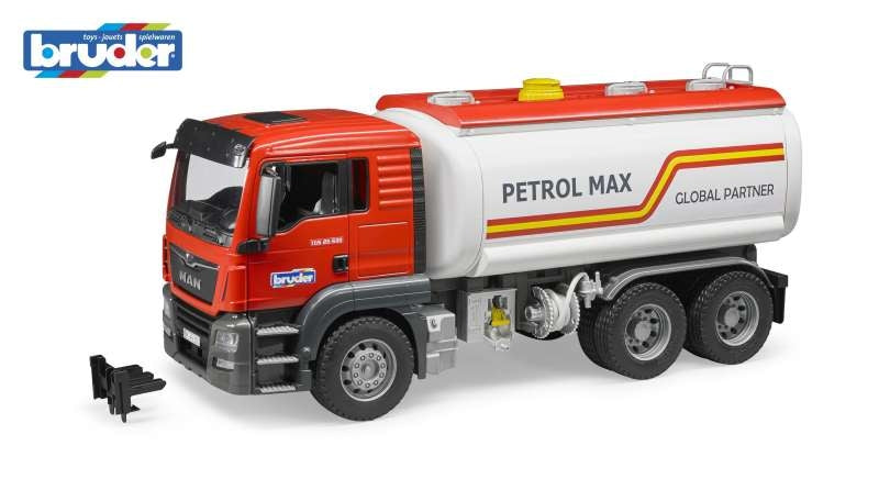 MAN TGS Tank Truck with Water Pump 1:16 - Bruder