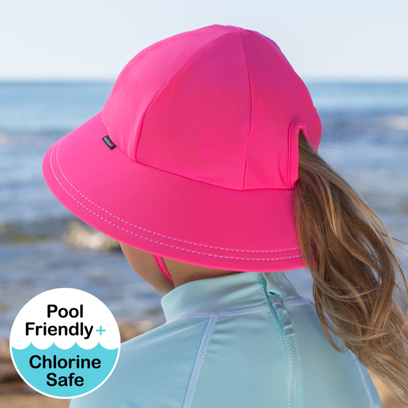 Candy Beach Ponytail Bucket UPF50+ Hat - Bedhead Hats