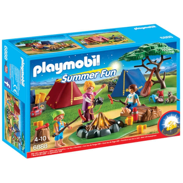 Camp Site with LED Fire - Playmobil