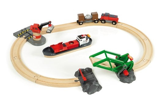 Cargo Harbour Set - Brio - box
