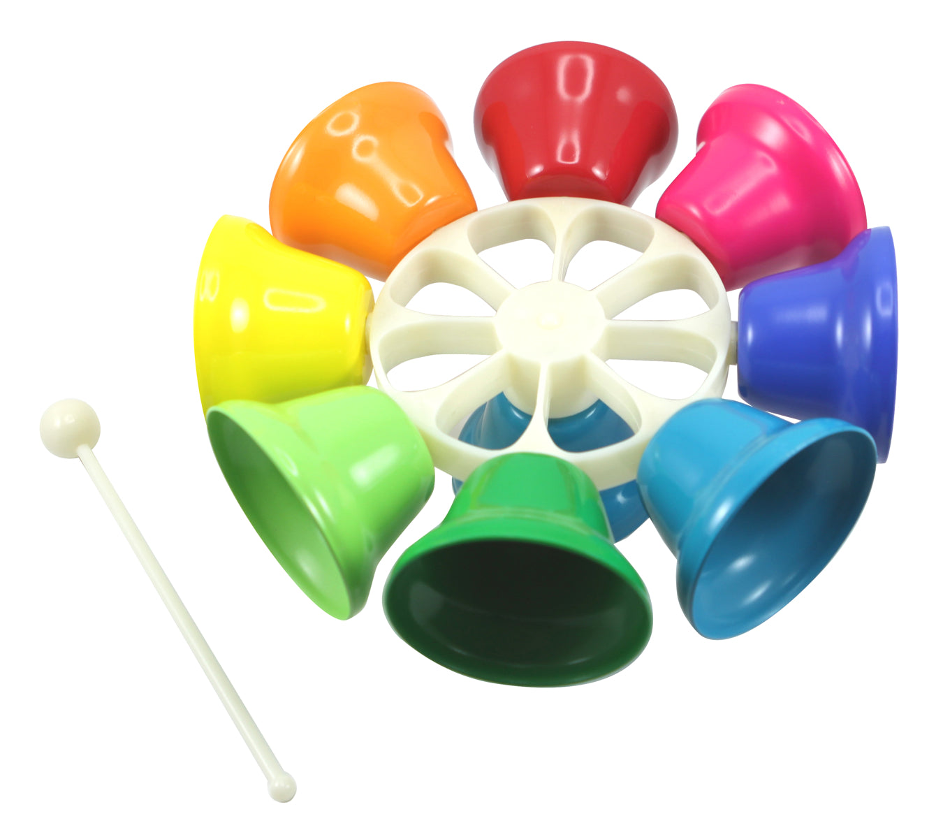 Rainbow Music Spinning Bells