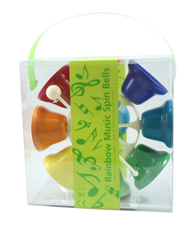 Rainbow Music Spinning Bells 2