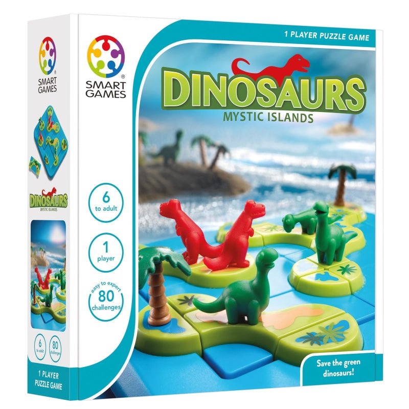 Dinosaurs Mystic Islands - Smart Games