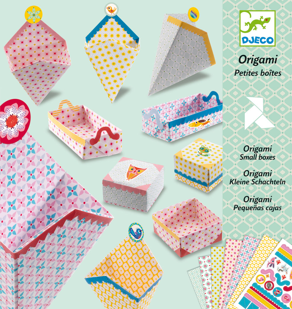 Origami Small Boxes - Djeco box
