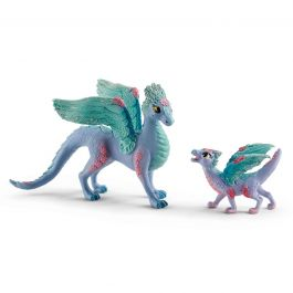 Flower Dragon and Baby - Schleich