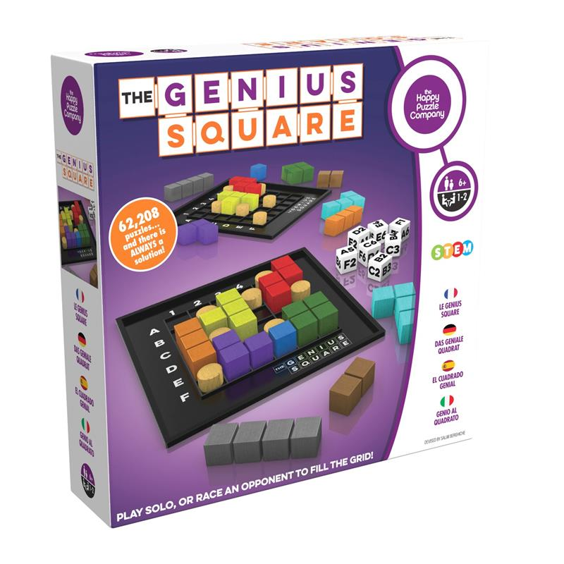 The Genius Square - Happy Puzzle Company