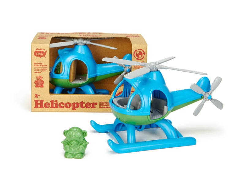 Helicopter Blue - Green Toys
