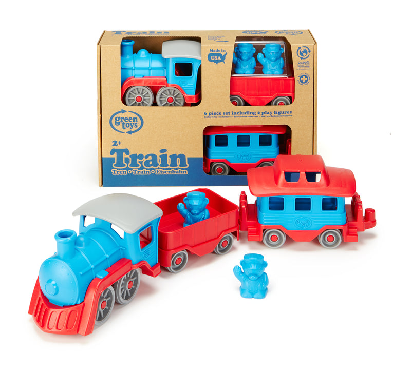 Train Blue - Green Toys