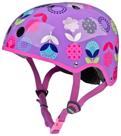 Floral Dot Helmet - Micro Scooters