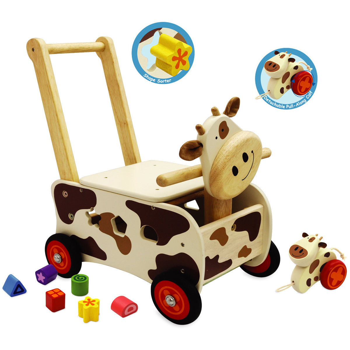 Walk & Ride Cow Sorter - Im Toy-Let the Children Play