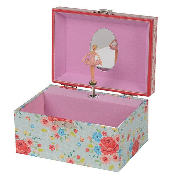 English Rose Jewellery Box Medium - Tiger Tribe