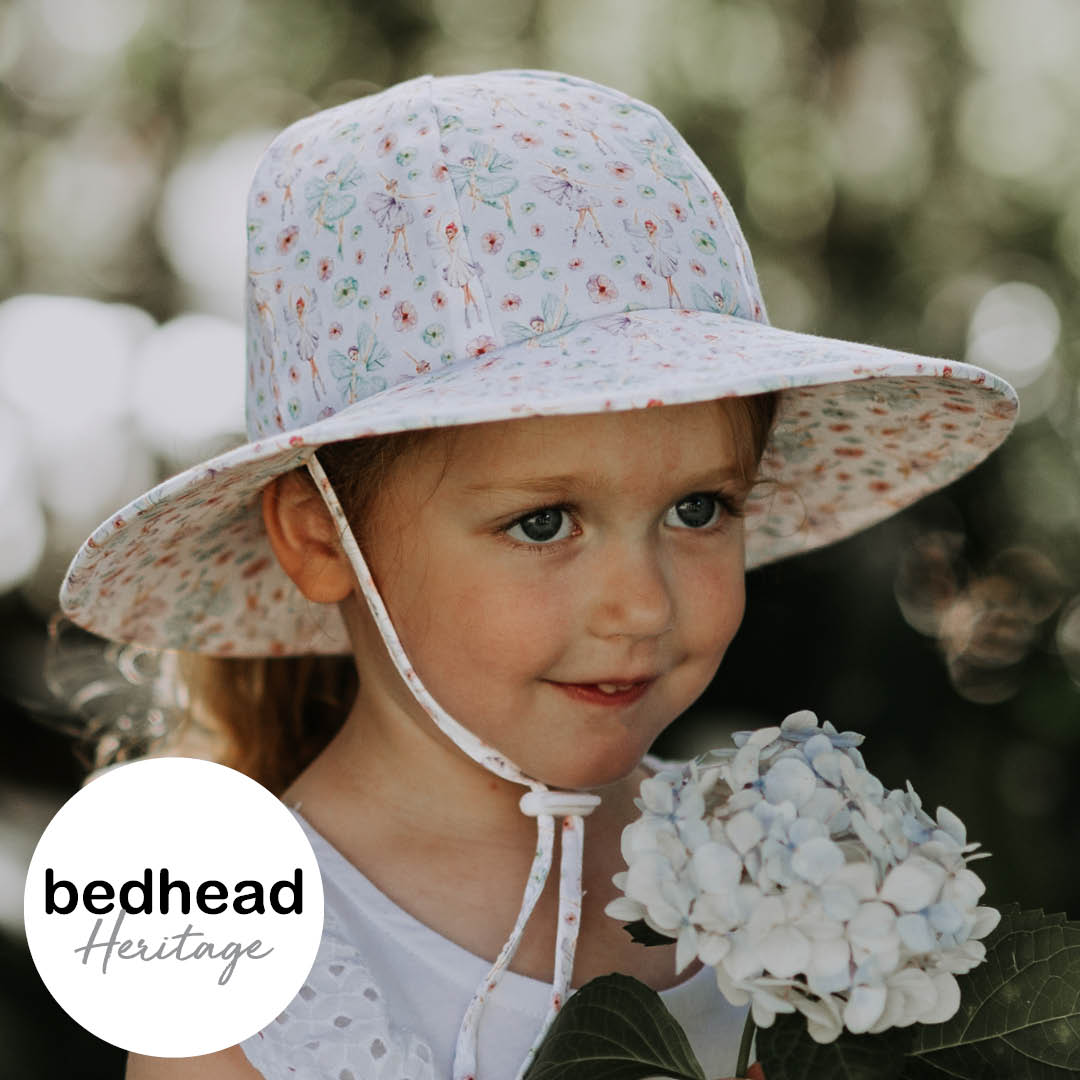 Fairies Ponytail Broadbrim Sun Hat - Bedhead Hats