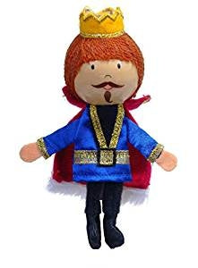 King Finger Puppet - Fiesta Crafts