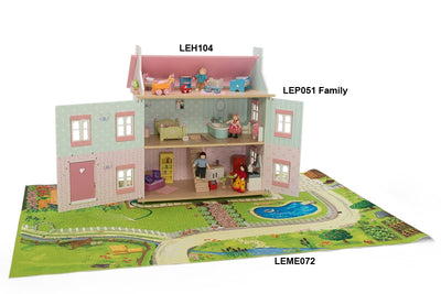 Daisy Lane Sophies House - Le Toy Van playmat