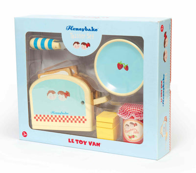 Honeybake Toaster Set - Le Toy Van box