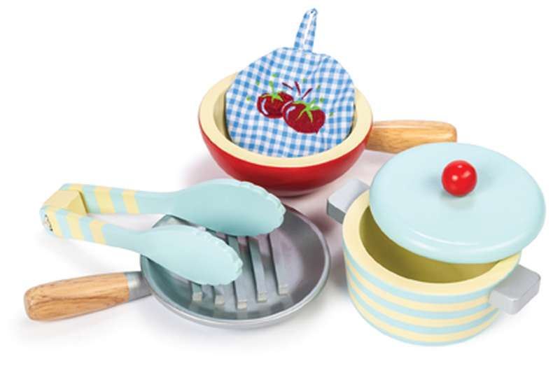 Honeybake Pots and Pans Set - Le Toy Van