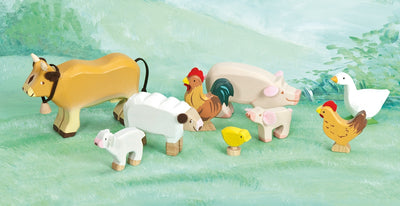 Sunny Farm Animals - Le Toy Van scene