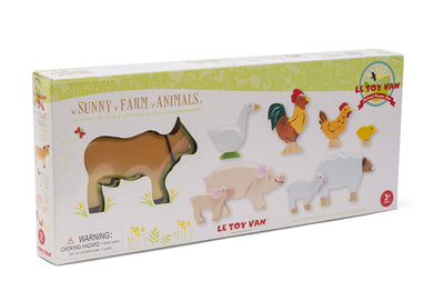 Sunny Farm Animals - Le Toy Van box