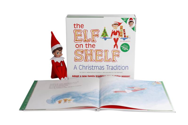 Elf on the Shelf - Light Skin Girl