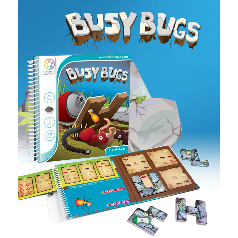 Busy Bugs Magnetic Travel - Smart Games
