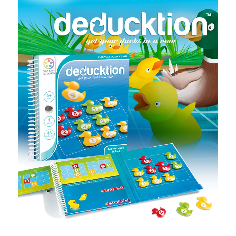Deducktion Magnetic Travel - Smart Games