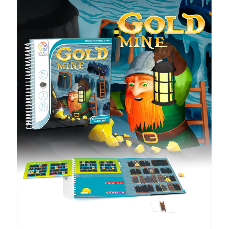 Gold Mine Magnetic Travel - Smart Games