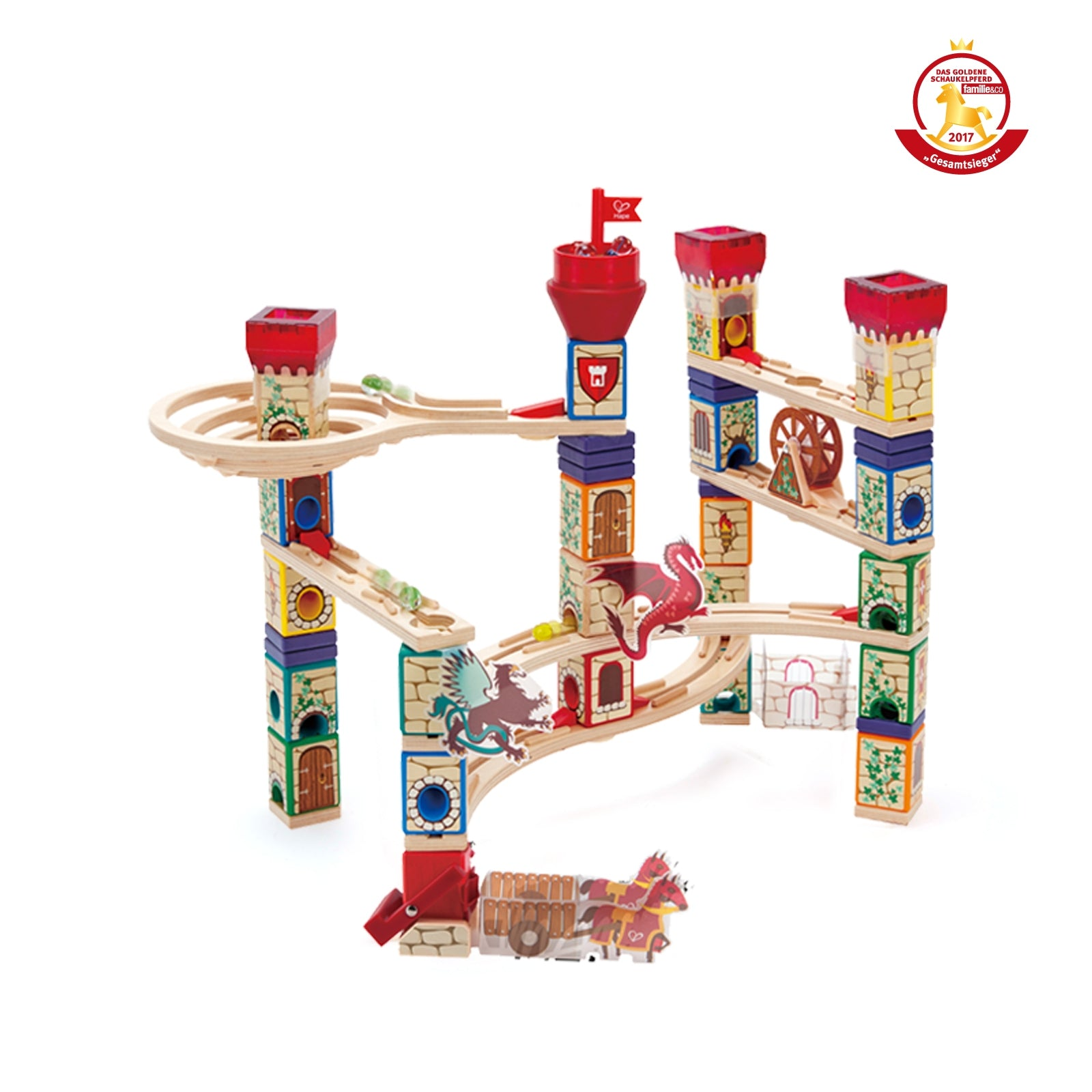 Quadrilla Medieval Quest Marble Run - Hape
