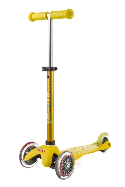 Mini Deluxe - Micro Scooters yellow extended