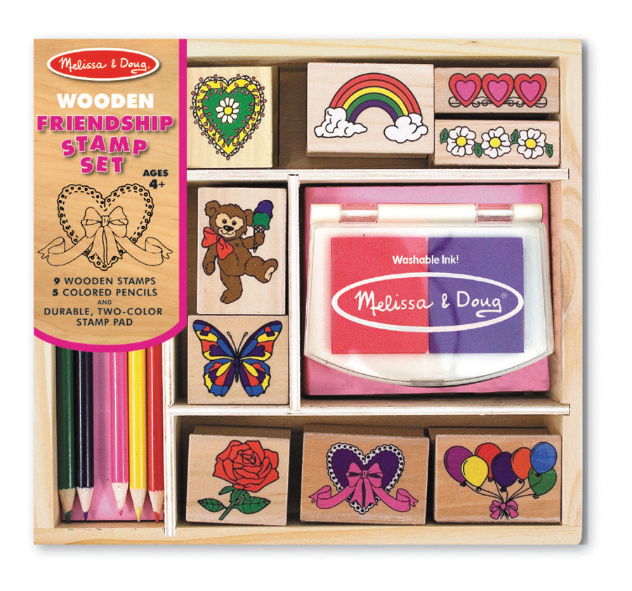 Friendship Stamp Set - M&D