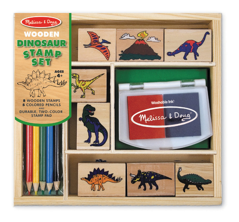 Dinosaur Stamp Set - Melissa & Doug
