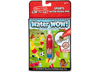 Sports Water WOW On The Go - Melissa and Doug