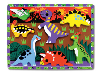 Dinosaurs Chunky Puzzle - Melissa and Doug