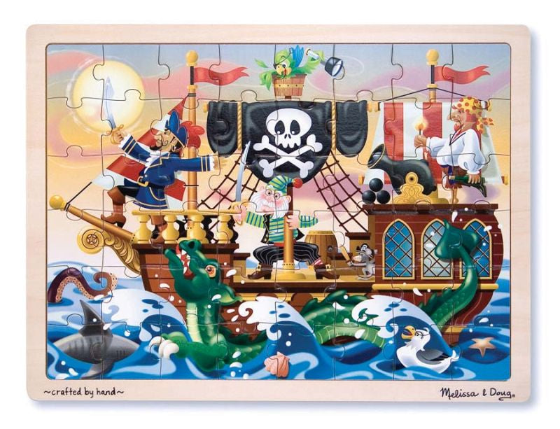 Pirate Adventure 48pc Jigsaw Puzzle - Melissa and Doug