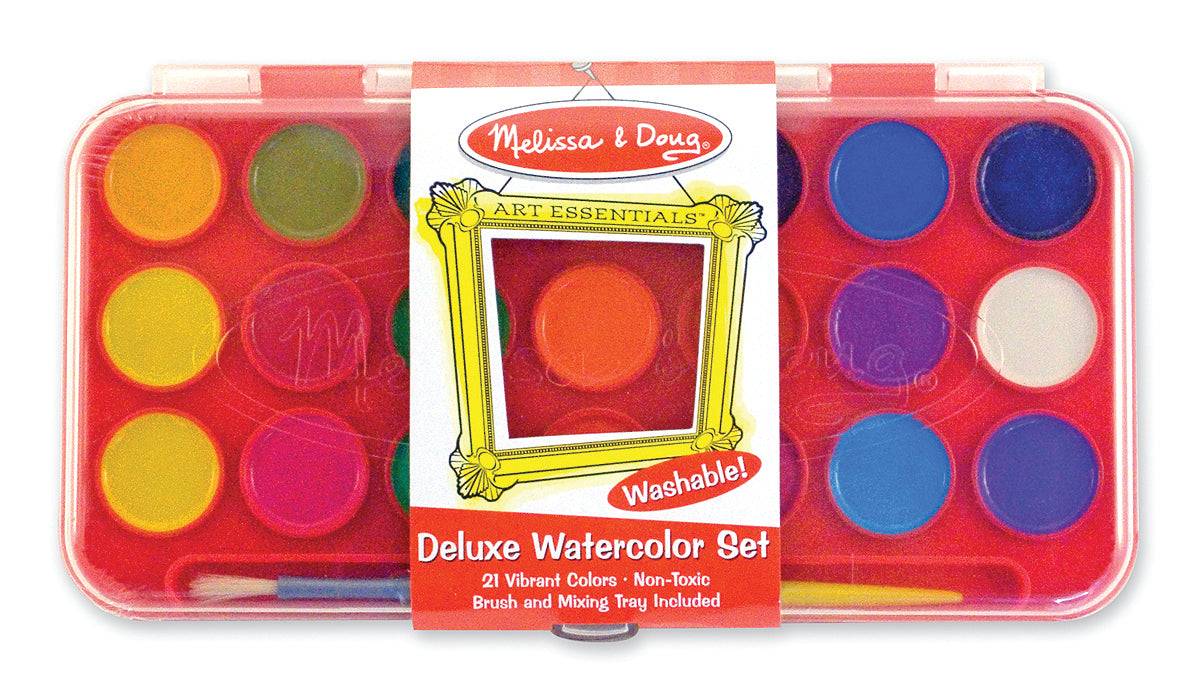 Deluxe Watercolor Paint Set - Melissa & Doug