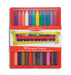 24pc Triangular Crayon Set - Melissa & Doug