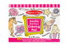 Multi Theme Pink Jumbo Colouring Pad - M&D