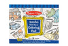 Multi Theme Blue Jumbo Colouring Pad - M&D