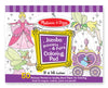 Princess & Fairy Jumbo Colouring Pad - M&D