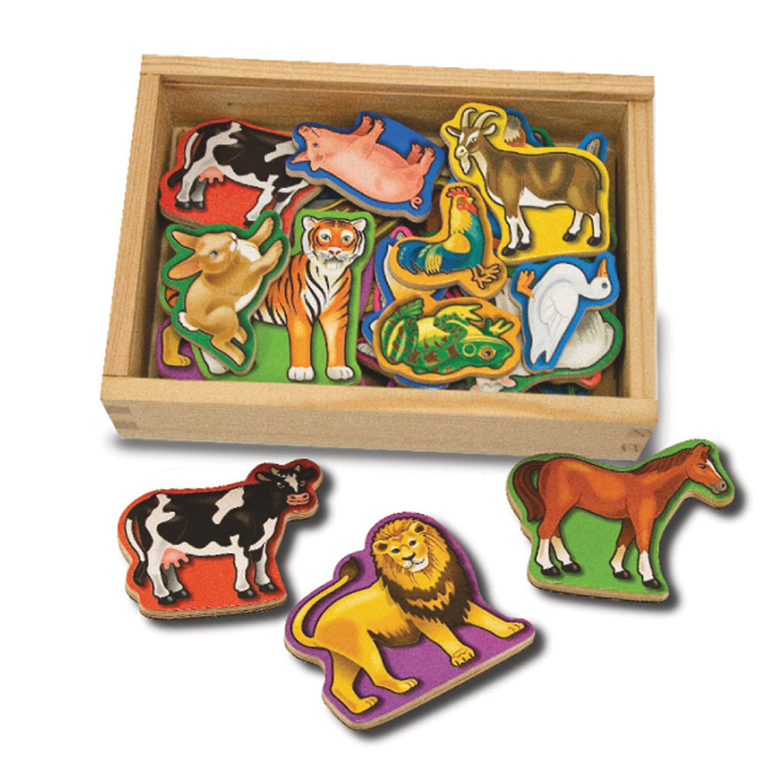Animal Magnets 20pc - M&D