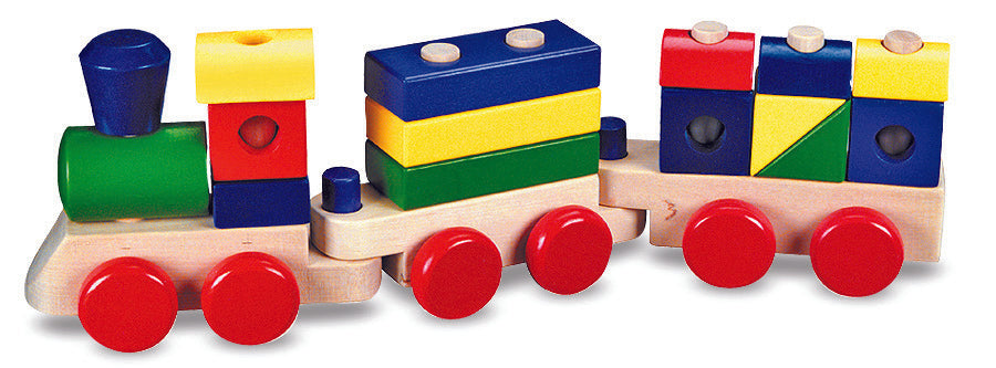 Wooden Stacking Train - Melissa & Doug