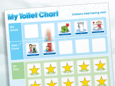 My Toilet Chart - Magnetic Moves