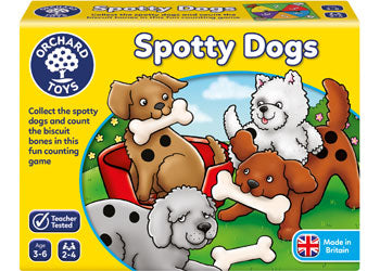 Spotty Dogs - Orchard Toys