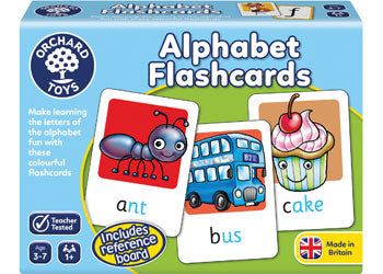 Alphabet Flash Cards - Orchard Toys