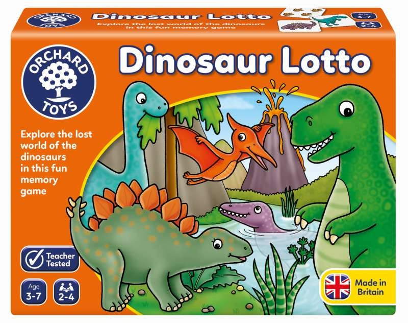 Dinosaur Lotto - Orchard Toys