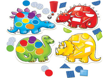 Dotty Dinosaurs - Orchard Toys